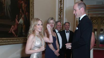 El día que Kylie Minogue conoció al príncipe William