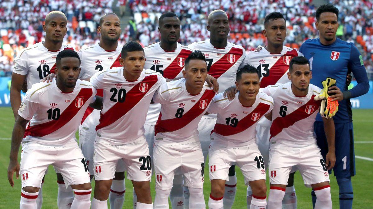Perú vs. Dinamarca   Sin Guerrero en cancha, este es el equipo titular de la selección