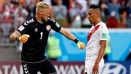 Schmeichel fue el escollo que no pudo vencer la Selección Peruana