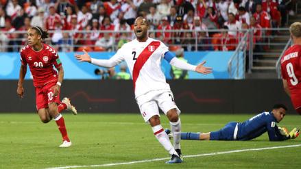 La Selección Peruana cayó ante Dinamarca en su debut en la Copa del Mundo