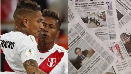 Prensa chilena se burló de la derrota de Perú en Rusia 2018