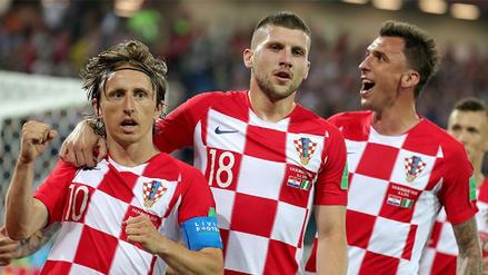 Croacia venció a Nigeria y es el único líder del grupo D de Rusia 2018