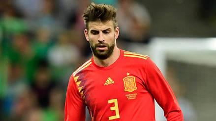 Gerard Piqué anunció que dejará la Selección de España tras el Mundial