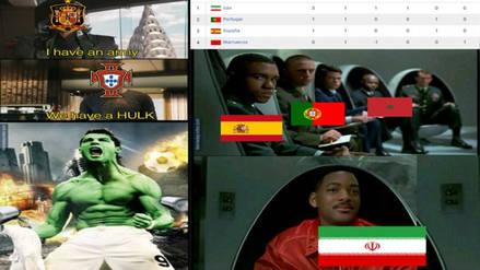 España continúa siendo víctima de memes tras empatar con Portugal