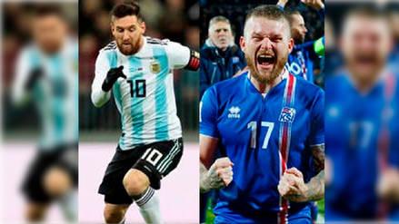 Argentina - Islandia: EN DIRECTO con el