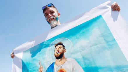 La pasión que genera Lionel Messi en el debut de Argentina en Rusia 2018