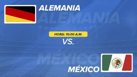 Alemania vs México EN VIVO ONLINE: hora, canales y alineaciones confirmadas