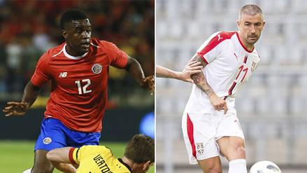 Costa Rica 0-1 Serbia: resumen, resultado y goles