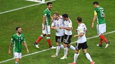 ¿Qué cambió del último partido en que Alemania goleó a México en la Copa Confederaciones?