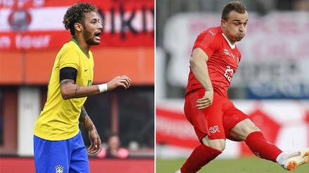 Brasil vs Suiza EN VIVO EN DIRECTO ONLINE: Canales, goles y minuto a minuto