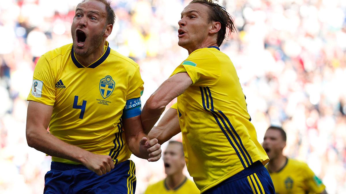 Suecia vs. Corea del Sur EN VIVO: horario, fecha y canal del partido por el Grupo F