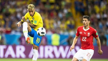 Brasil no pudo con Suiza y empató en su debut en el Mundial