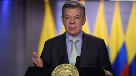 Juan Manuel Santos pide salir a votar para seguir construyendo el país en paz