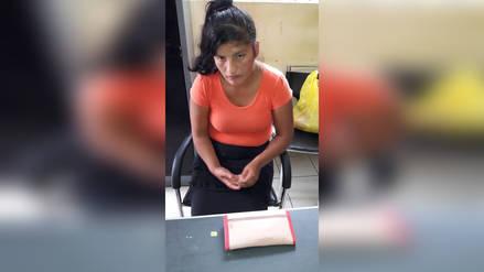 Intervienen a mujer cuando pretendía ingresar un chip al penal de Chiclayo