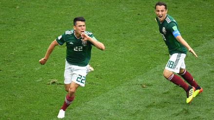 El perfecto contragolpe de México que terminó en gol de 'Chucky' Lozano