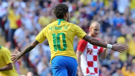 Neymar previo al debut: