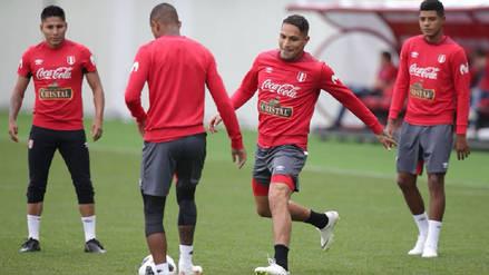 Tras caer ante Dinamarca, Perú volvió a los entrenamientos solo con suplentes