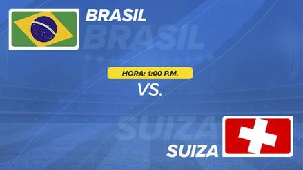 Brasil vs Suiza EN VIVO EN DIRECTO ONLINE: Minuto a minuto por el Grupo E de Rusia 2018