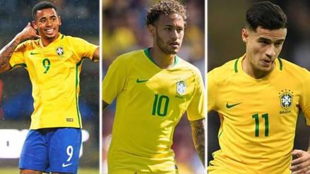 El millonario valor de la Selección de Brasil, según Transfermarkt