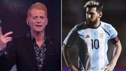 Martín Liberman criticó a Messi tras fallar un penal en Rusia 2018