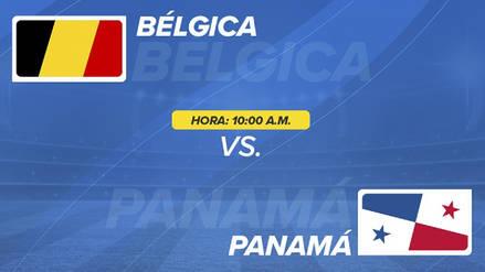 Bélgica vs Panamá EN VIVO EN DIRECTO ONLINE: Canales, goles y minuto a minuto