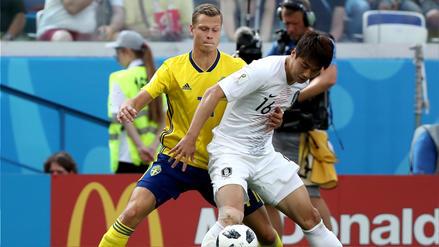 Suecia vs Corea del Sur EN VIVO EN DIRECTO ONLINE: Canales, goles y minuto a minuto