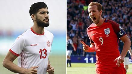 Túnez empata 1 a 1 con Inglaterra por el Campeonato Mundial de Rusia  2018