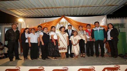 Eligen a doncellas Iñikuk en colegio rural de Olmos