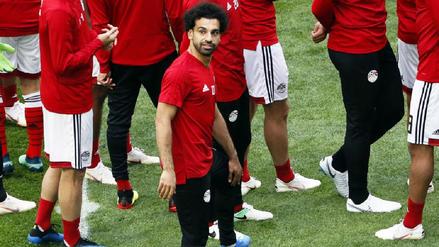 La presencia de Mohamed Salah ante Rusia no está confirmada, según su DT