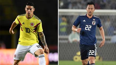 Colombia vs. Japón EN VIVO: horario, fecha y canal del partido por el Grupo H