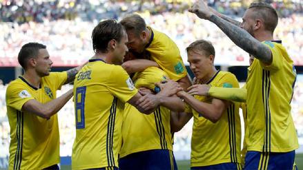 Un penal dado por el VAR le otorgó a Suecia el triunfo por 1-0 ante Corea del Sur
