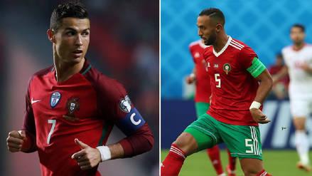 Portugal vs Marruecos EN VIVO EN DIRECTO ONLINE Canales DirecTv Rtp Carnaxide Sportv mediaset Telecinco Latina Cristiano Ronaldo fecha hora Rusia 2018   Rpp.pe