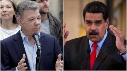 Maduro dice que Santos