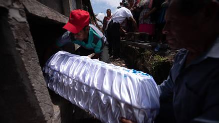 Niña quemada por erupción del volcán en Guatemala murió en hospital de EE.UU.