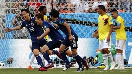 Colombia quedó contra las cuerdas al caer en el debut 1-2 ante Japón