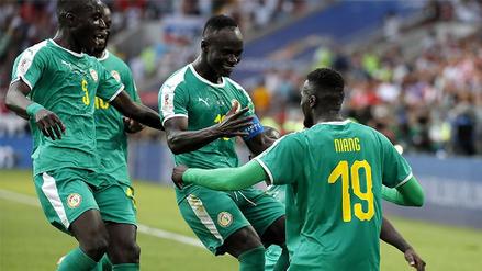 Senegal derrotó 2-1 a Polonia por el grupo H del Mundial