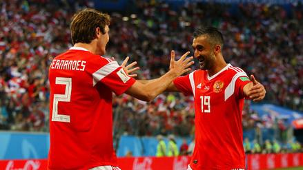 Rusia venció a Egipto y sigue sorprendiendo en la Copa del Mundo