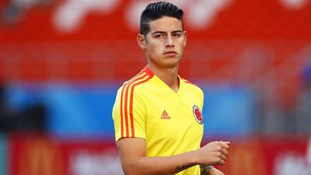 ¿Por qué James Rodríguez no fue titular en el Colombia vs. Japón?