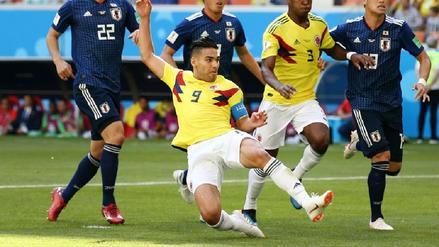 Radamel Falcao cumplió su sueño de debutar en un Mundial a los 32 años
