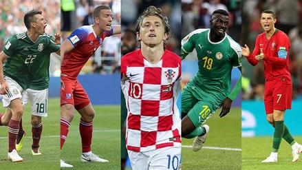 Los 16 mejores jugadores del partido de la primera fecha del Mundial