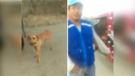 Agricultor se disculpó por haber arrastrado a perrito por la carretera