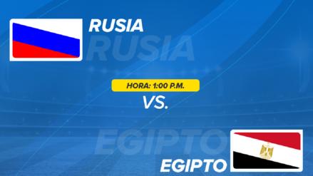 Rusia vs. Egipto EN VIVO EN DIRECTO ONLINE: Fecha, horarios y alineaciones probables