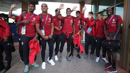 Selección Peruana llegó a Ekaterimburgo, ciudad donde chocará ante Francia
