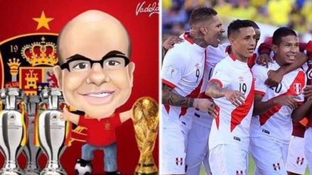 Mister Chip eligió a Perú como la selección sudamericana que más le gustó
