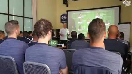 Francia analizó a los jugadores peruanos antes del duelo por Rusia 2018