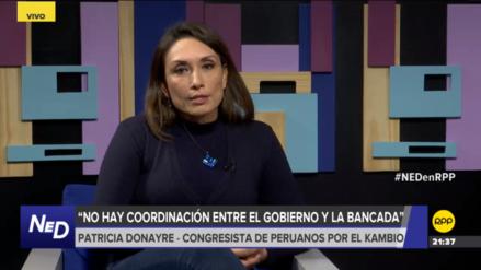 Donayre dijo que Peruanos por el Kambio no ha decidido dejar el oficialismo