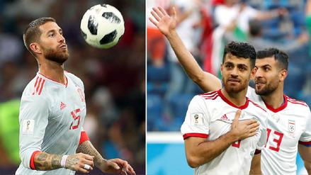 España vs Irán EN VIVO EN DIRECTO ONLINE por la segunda fecha de Rusia 2018