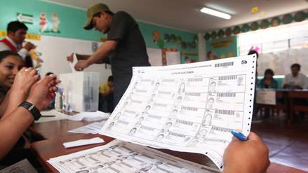 ONPE: más de 1 millón y medio de personas participarán por primera vez en elecciones