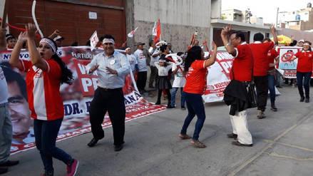 Chiclayo: candidatos justifican inscripción a último minuto