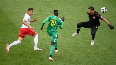 La peculiar táctica de Niang y el error de Szczesny en el segundo gol de Senegal